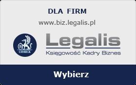 Legalis Księgowość, Kadry, Biznes